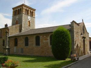 Eglise Notre-Dame de l'Assomption de Cailloux sur Fontaines